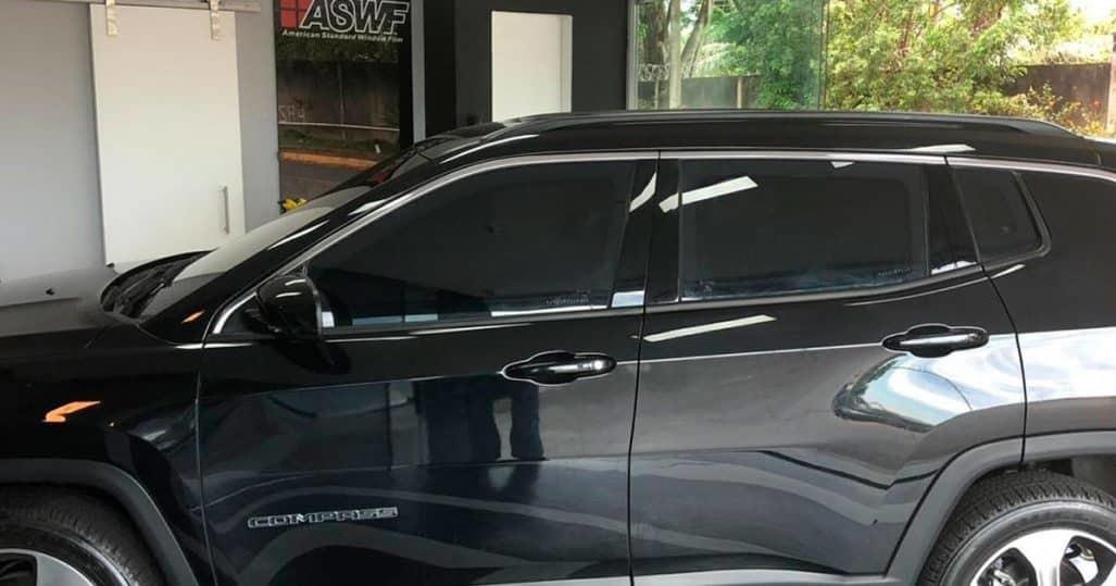instalação de insulfilm automotivo em SUV no RJ!