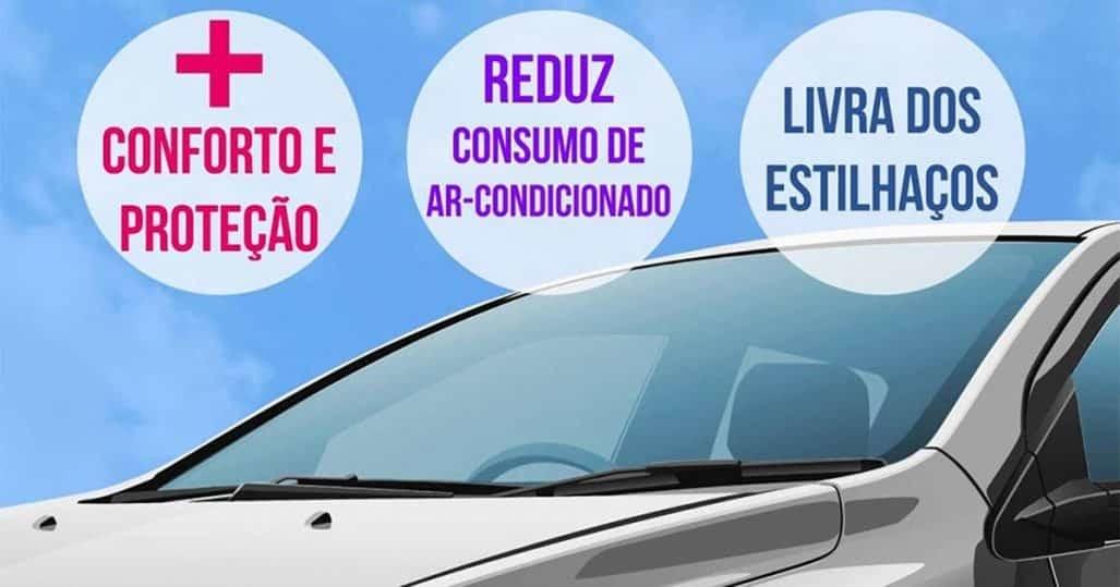 Película Windows Blue. Aplicação residencial e automotiva RJ