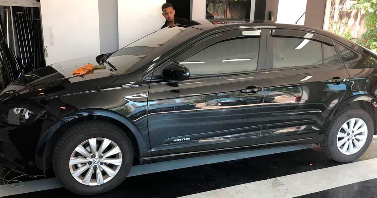 Insulfilm Automotivo RJ instalado em Volkswagen Virtus na Barra da Tijuca