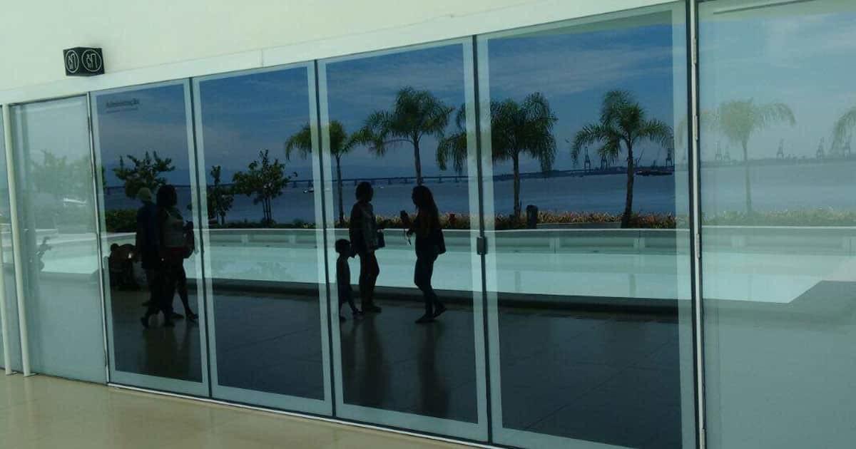 Insulfilm Espelhado instalado no Museu do Amanhã – Centro do Rio de Janeiro