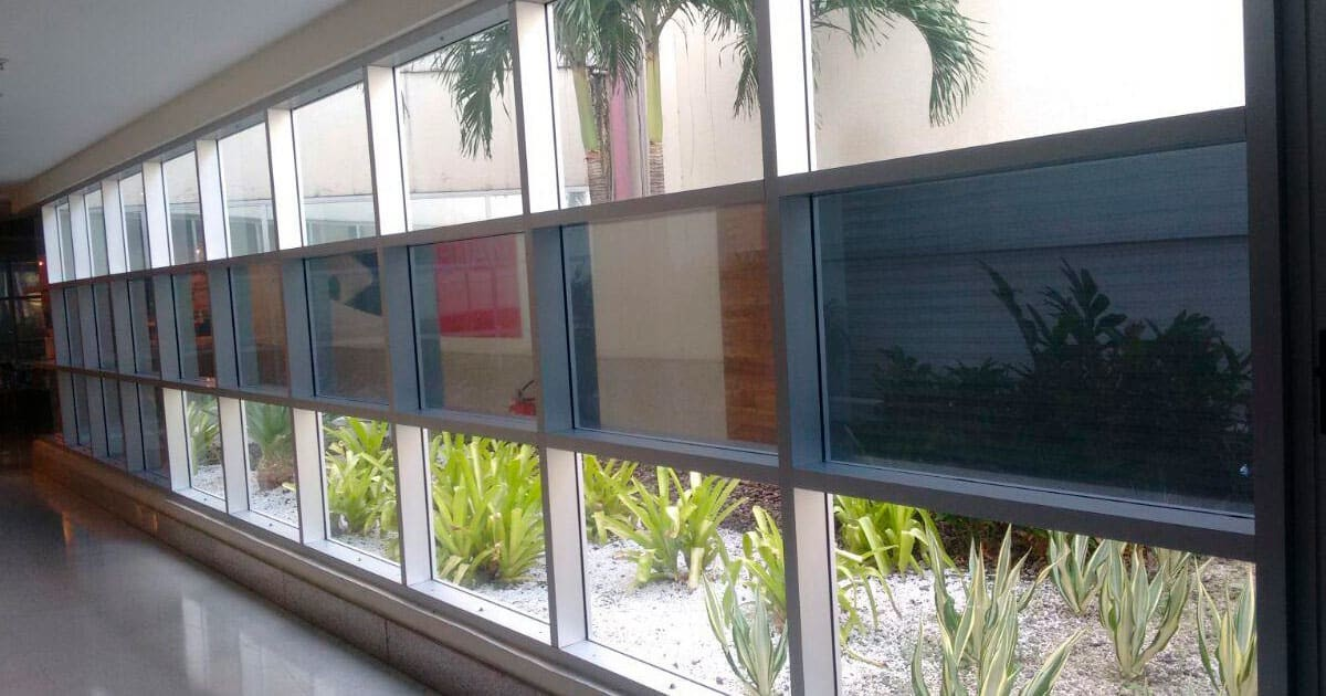 Insulfilm Residencial aplicado em um Condomínio de Luxo no RJ!