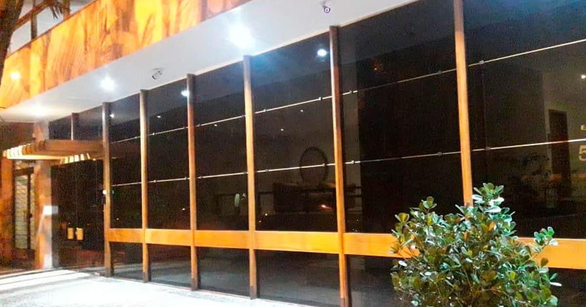 Película G5 instalada em Portaria no bairro de Ipanema, Zona Sul do RJ
